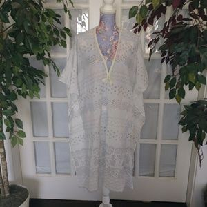 Lucky Brand Lounger Beach Cover Up Nice